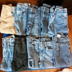 10 pairs of boys pants